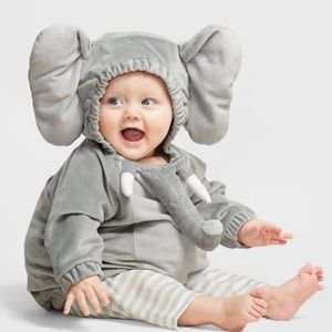 Hyde and Eek Infant elephant plush costume